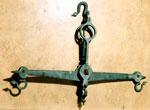 Balance beam, used in burgh of Dunbar, East Lothian