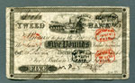 Banknote, Five pounds, issued by Tweed Bank