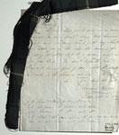 Letter & tartan sample, associated with William Wilson & Sons, Bannockburn, near Stirling