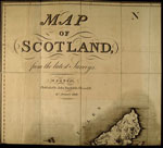 Map (sheet 1), Map of Scotland, published by John Stockdale, Piccadilly, London