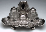 Inkstand with inkwells