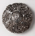 Brooch (front), commemorating Disruption, 1843