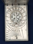 Diptych sundial (detail)