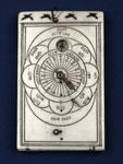 Diptych sundial (closed)