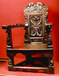 Nursing chair, associated with James VI and I