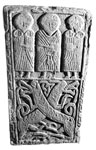 Back of a Pictish cross slab