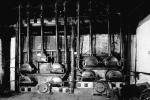 Hand-fired retorts inside Gasworks, Biggar, Lanarkshire
