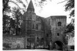 View of the Gatehouse and Frater Hall (Refectory), Dunfermline Abbey, Dunfermline, Fife