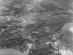 Aerial view of Dumbarton, Strathclyde