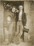 Photographic portrait of David Octavius Hill & William Borthwick Johnstone