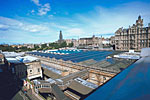 View from North Bridge of Waverley Market, Edinburgh