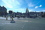 Princes Street and roof garden of Waverley Market, Edinburgh