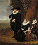Dutch Family Group [Portrait of a Man, Woman and Two Girls]