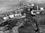 Aerial view of Houldsworth Colliery, Dalmellington, Ayrshire