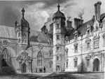 Heriot's Hospital - The Court Yard and Chapel