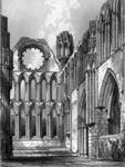 Choir of Elgin Cathedral