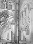 View of South Aisle and Nave. Glasgow Cathedral (Glasgow)