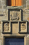 Royal Sites and Associations (Spynie Palace, heraldic panel)