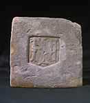 Royal Sites and Associations (James IV, Linlithgow Palace, glazed tile)