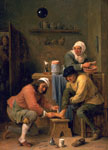 'A Surgeon Treating a Peasant's Foot' by David Teniers II