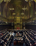 Earl Morley Addressing the House of Lords