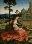 'The Virgin and Child by a Fountain' by Bernard van Orley