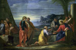 'Christ presenting the Keys to St. Peter' by Giovanni Ghisolfi