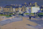'Evening, North Berwick,' c1903 by S J Peploe