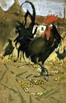 'Black Spanish Cock', circa 1893-1901 by Joseph Crawhall