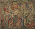 Brussels Tapestry Depicting an Allegory of Man's Salvation