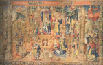 Belgian Tapestry Depicting the Apotheosis of Faith, 1520-1530