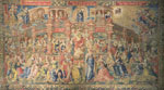 Belgian Tapestry Depicting the Apotheosis of Divine Wisdom, 1520-1530