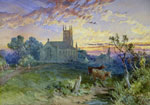 'Cathcart Church, 1850' by William Simpson