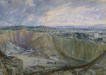 'Bell's Park and Quarry at Top of Queen Street' in the Thirties' by William Simpson, 1898