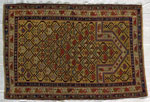 19th-century Marasali Prayer Rug from the Eastern Caucasus