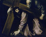 'Christ Carrying the Cross', 1568-1579 by Juan Fernandez de Navarrete, Spanish School