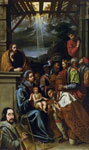 'Adoration of the Magi', 1607-1624 by Luis Tristan, Spanish School