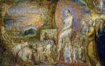 'Christ's Entry into Jerusalem', 1800 by William Blake, British School