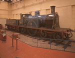 Caledonian Railway Locomotive No. 123 and Tender, 1886