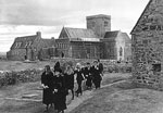 Funeral Of John Smith On The Island Of Iona, May 1994