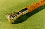 Arthur Guthrie's Commemorative Gold Topped Cane