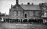 Drill at Wigtown Public School, 1909