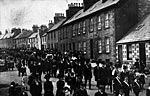 Burgh Council and masons in parade, Wigtown, c 1910