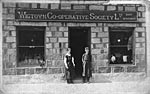 Co-operative Society Shop in Wigtown, c 1920