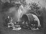Tinkler gypsies encamped in Galloway