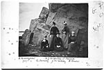 Ladies on an excursion to the Rocks of Garheugh, 1890's