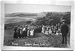 Sunday School Picnic, near Garlieston, 1912