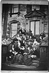 Galloway family and friends, Galloway House, 1864