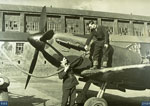 602 Squadron Spitfire Mk IA being refuelled as Dyce near Aberdeen in 1939