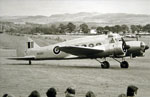 Avro Anson T22 general reconnaissance light transport, trainer aircraft at Strathallan Air Show 1973